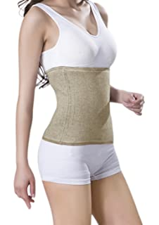 Relives Back Pain S Lauftex Medical Grade Warming Belt for Men and Women Cotton /& Merino Wool Kidney Warmer