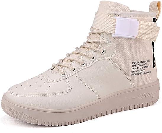 XUEXUE Zapatillas de Hombre Fall Fitness Muelle Fall Tulle Confort Altas Zapatillas Zapatillas de Running Transpirable Zapatillas Ligeras de Senderismo Zapatos Casuales Zapatillas de Paseo Athletic: Amazon.es: Hogar