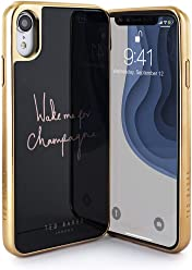 9c3d9cffb55681 Ted Baker Fashion Premium Tempered Glass Case for iPhone XR