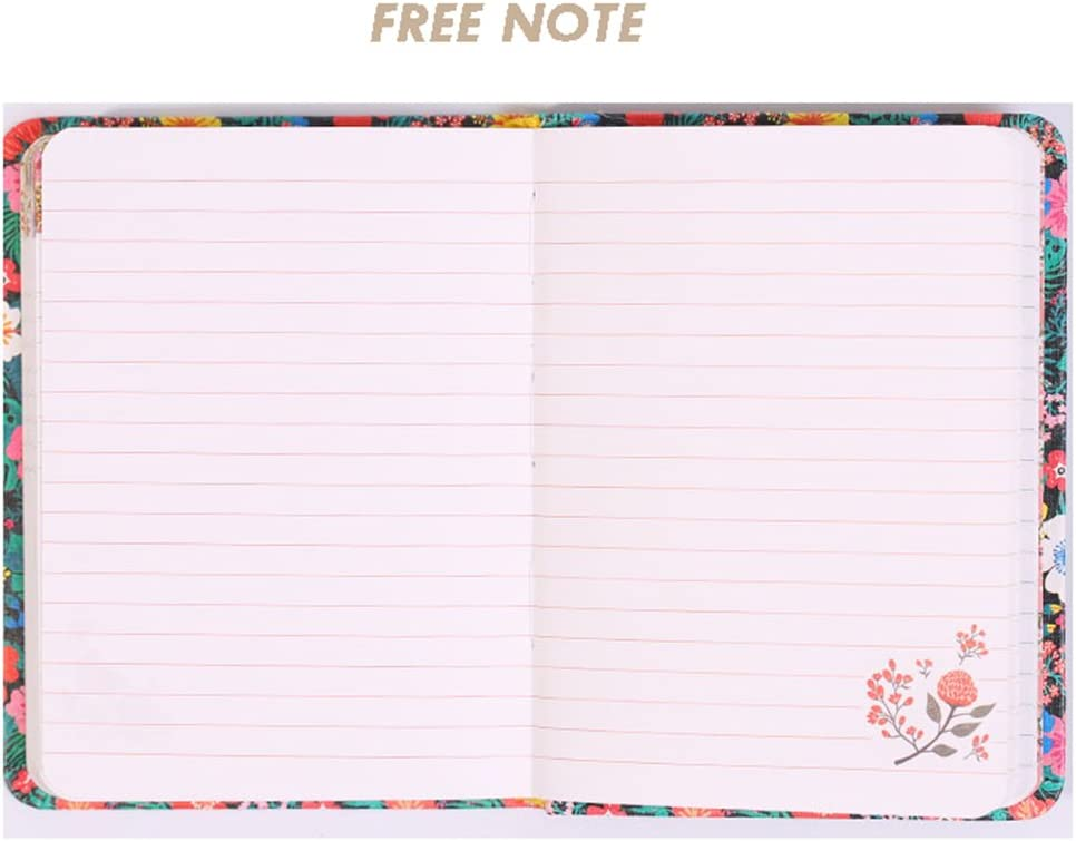 Toim fiorito per donne o ragazze Quaderno planner calendario calendario organizzatore 19.5*13.2 cm B