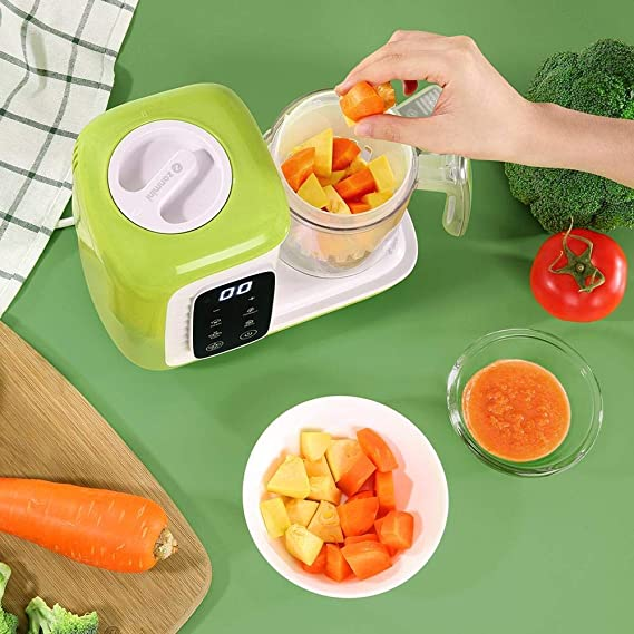 zanmini Robot de Cocina al Vapor Procesador de Alimentos para ...