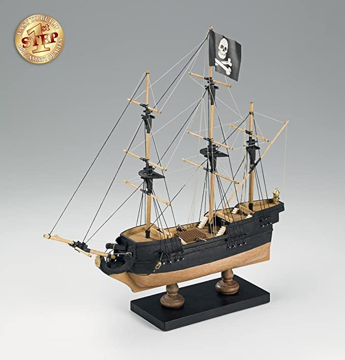 Amati - Kits maqueta barco pirata de madera: Amazon.es ...