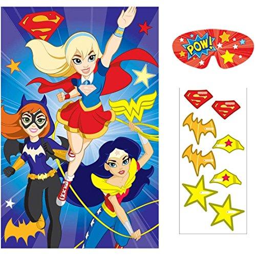 Amscan DC Super Hero Girls Party Game