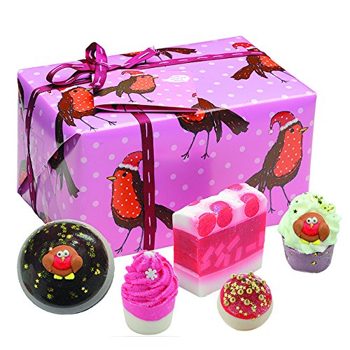 Bomb Cosmetics Rockin Robin Handmade Gift Pack GROCROB04