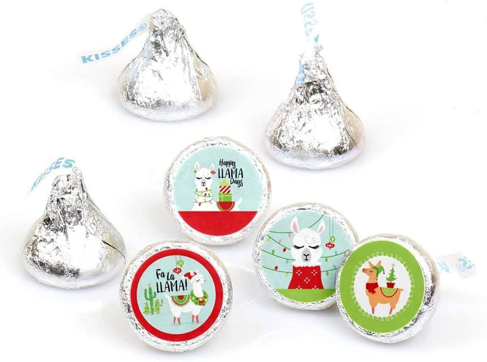 Holiday Llama Address Labels Christmas Llama Address Labels