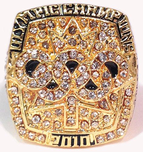 Sidney Crosby Olympic Championship Ring Replica - Rare Ho...