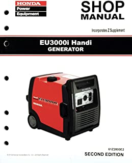 amazon com honda eb6500 generator service repair shop manual rh amazon com honda eb6500x shop manual honda generator eb 6500 service manual