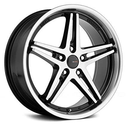 Amazon BSP60 Gloss Black With Machined Face And Lip 60 X 60 Adorable 5x105 Bolt Pattern