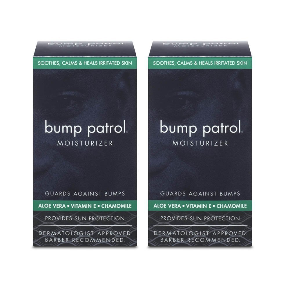 Bump Patrol Moisturizer - Guards Against Bumps - 2 Pack M&M Products Company