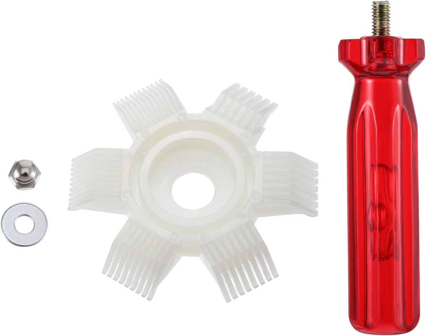 2 Sets Frienda Condenser Fin Straightener AC Fin Comb Air Conditioner Radiator for Cleaning Radiator Evaporator