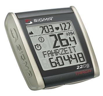 Sigma BC2209 Targa - Ciclocomputador con pulsómetro: Amazon.es ...