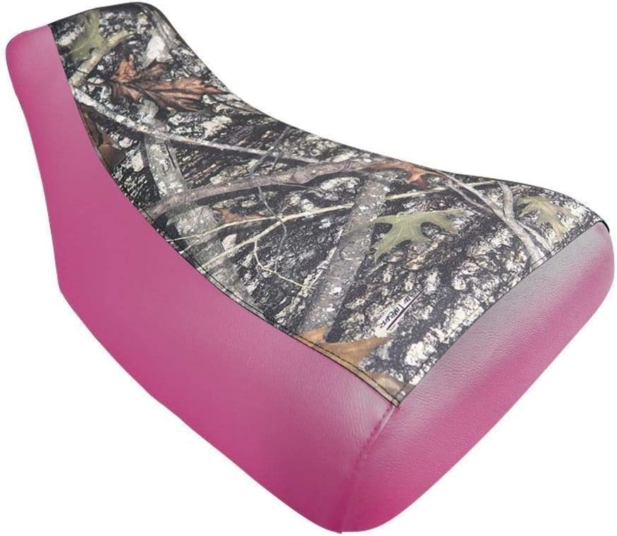 VPS Seat Cover Compatible With Honda Recon TRX250 2005-2014 Camo Pink Sides ATV Seat Cover
