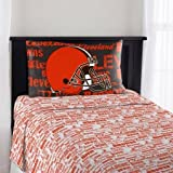 The Northwest Company NFL Cleveland Browns Anthem Twin Sheet Set