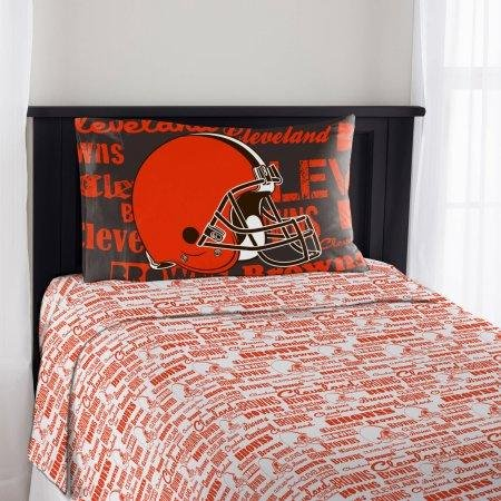 The Northwest Company NFL Cleveland Browns Anthem Twin Sheet Set by The Northwest Company