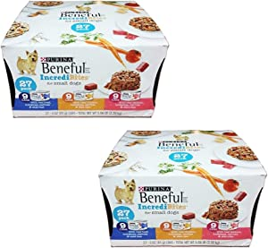 Purina Beneful Prepared Meals Adult Wet Dog Food - (8) 10 oz. Tubs (Small Dogs Variety Pack, 2 Pack (Each 27 cans))