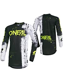 O'Neal Men's Element Shred Jersey (Black, XX-Large)