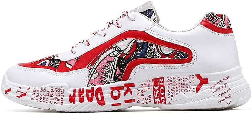 OPAKY Zapatillas para Hombre Moda para Hombre para Hombre Estampado Deportivo Calzado Informal Zapatos Zapatillas Zapatillas Running para Hombre Aire Libre y Deporte Transpirables Casual: Amazon.es: Zapatos y complementos