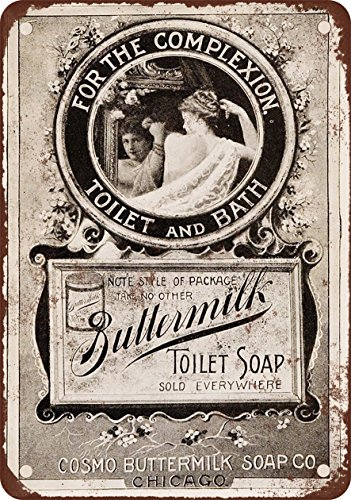 1895 Buttermilk Toilet Soap - Vintage Look Reproduction