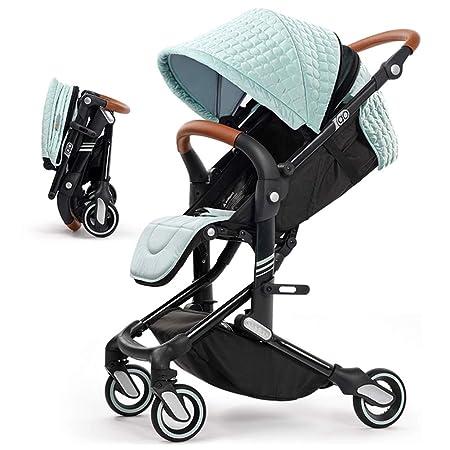 Cochecito de bebé, alto paisaje, ligero plegable portátil 0-3 años ...