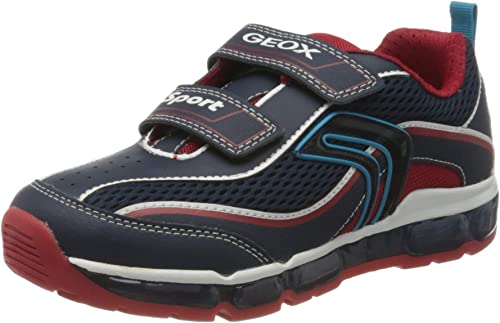 Post impresionismo Drama amenaza  Geox Boys' J Android C Low-Top Sneakers Child: Amazon.co.uk: Shoes & Bags