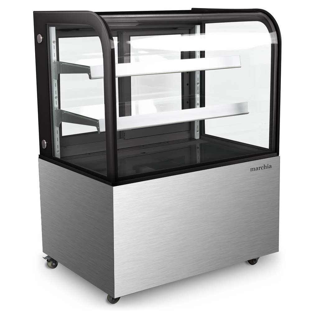 MB36 36'' Curved Glass Refrigerated Bakery Display Case