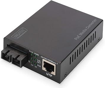 Digitus Medienkonverter Mm Gbit Ethernet Rj45 Computer Zubehör