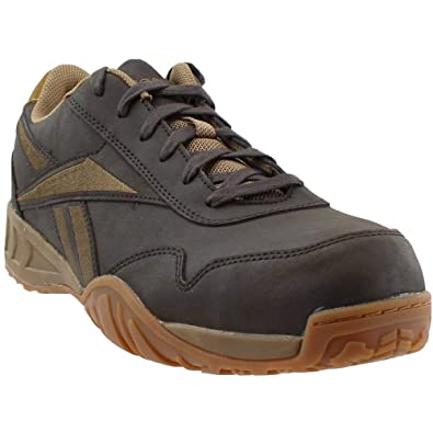 b41554e62e6982 Amazon.com  Reebok RB1940 Men s Euro Safety Shoes - Brown  Shoes