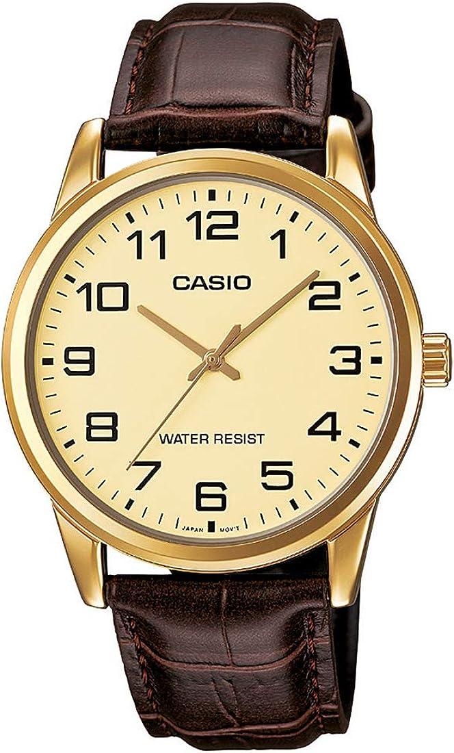 Casio Reloj con Movimiento Cuarzo japonés MTP-V001GL-9B 42
