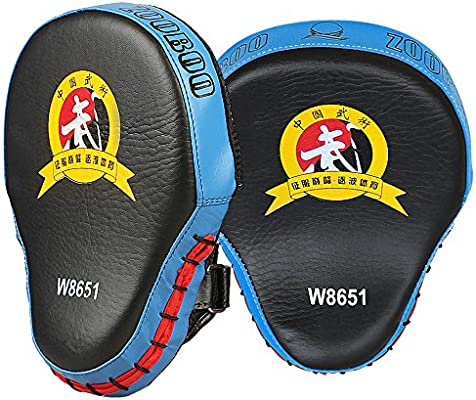 Punching Mitts Pad Target Training Glove Martial Arts Karate Boxing Focus Mitt