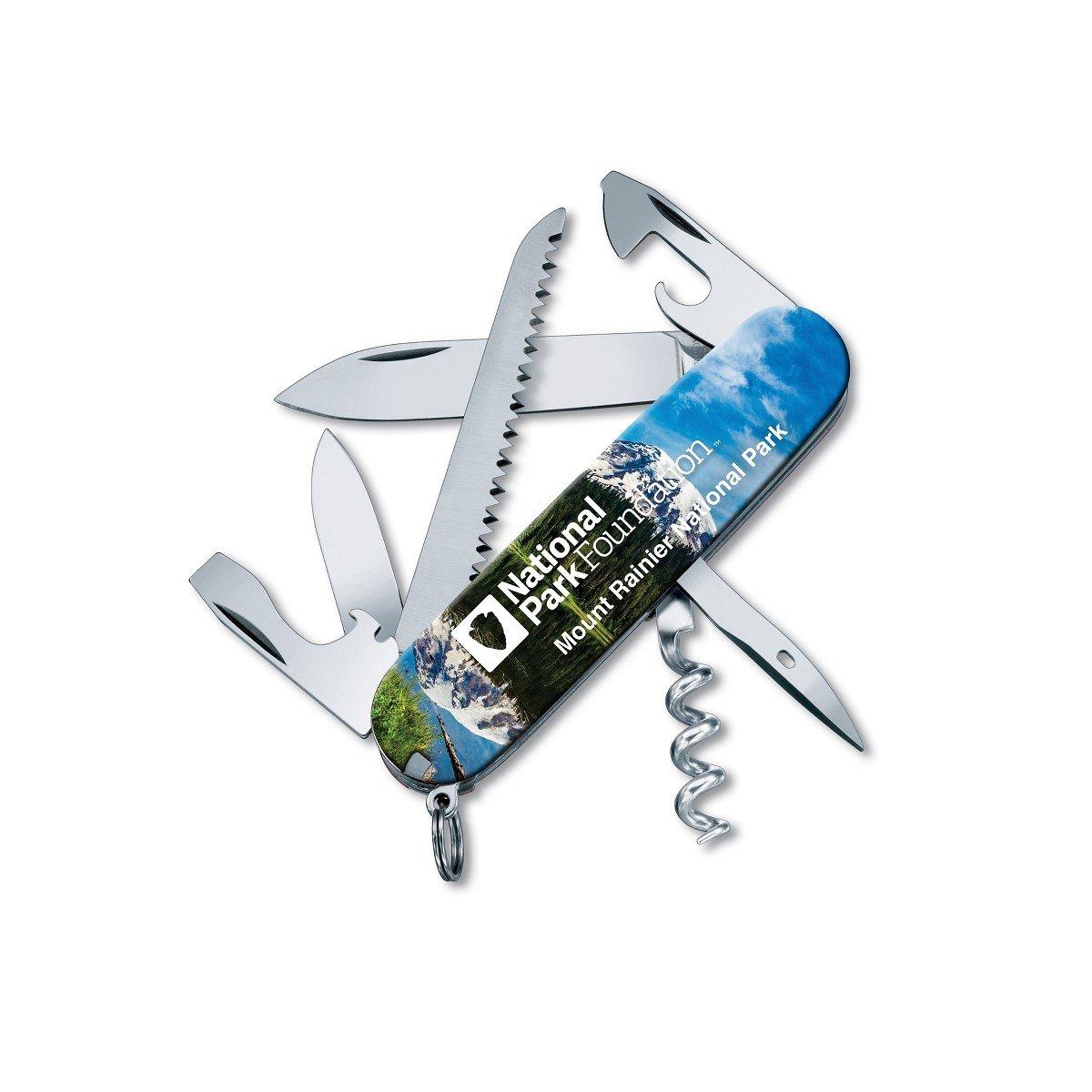 Victorinox Swiss Army Camper Pocket Knife, Mt. Rainier National Park by Victorinox