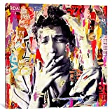 iCanvasART Bob Dylan Gallery Wrapped Canvas Art Print by Michiel Folkers, 37'' x 0.75'' x 37''