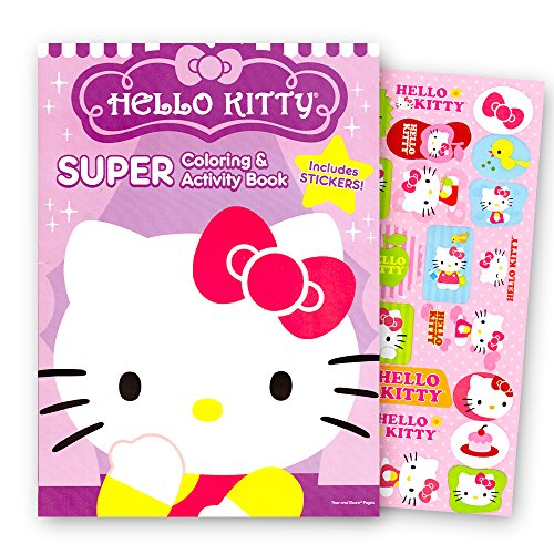 coloring book hello kitty - 2