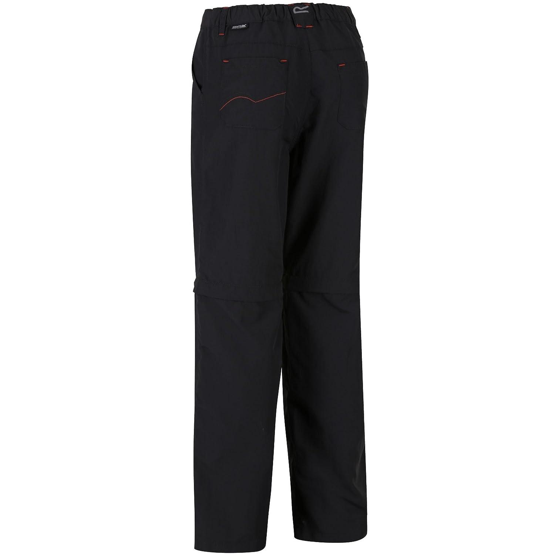Regatta Kids Sorcer Pantaloni accorciabili con cerniera