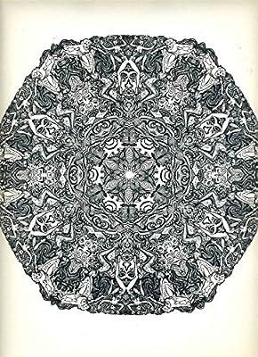 Psychedelic Mandalas XXII Saladin Lithograph 1967