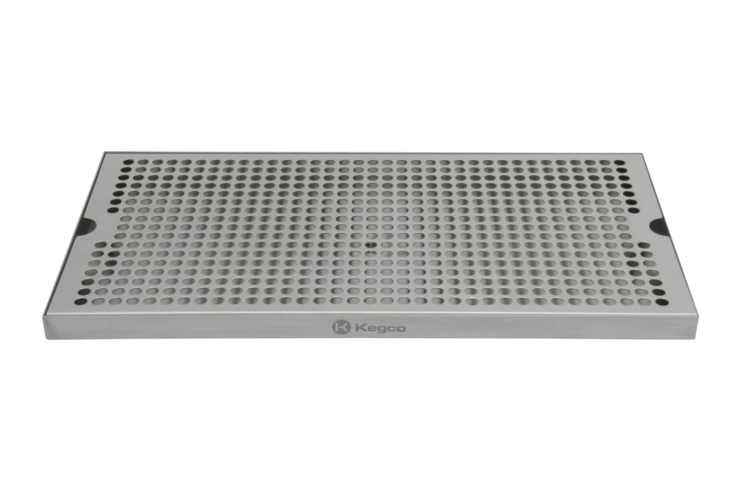 Kegco SESM-189D 18'' x 9'' Surface Mount Drip Tray with Drain by Kegco (Image #5)