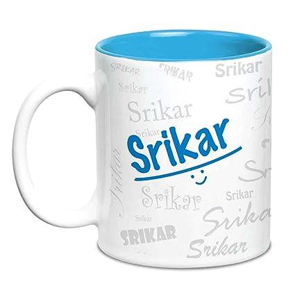 Buy Hot Muggs Me Graffiti Mug - Srikar Personalised Name Ceramic