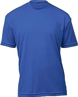 product image for WSI Microtech Loose Short Sleeve Shirt, Royal Blue, Medium