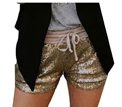 Sexy sequin shorts