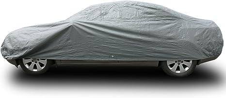 Garaje /& Showroom Completo Car Cover-XL MPE Negro Suave Tela Respirable interior