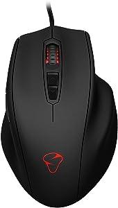 MIONIX NAOS 3200 Multi-Color Ergonomic Optical Gaming Mouse
