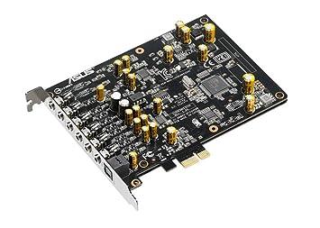 ASUS Tarjeta DE Sonido XONAR Ae 7.1 PCIE Gaming 192kHz/24-bit Hi-Res Audio Quality