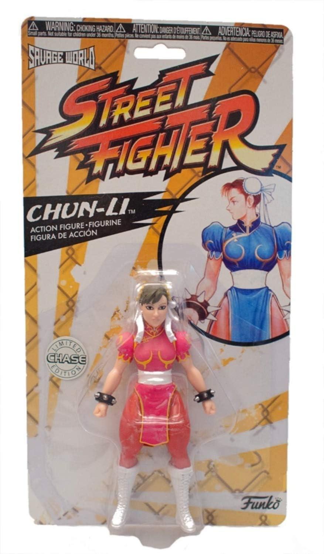 Amazon Com Funko Savage World Street Fighter Chun Li Pink