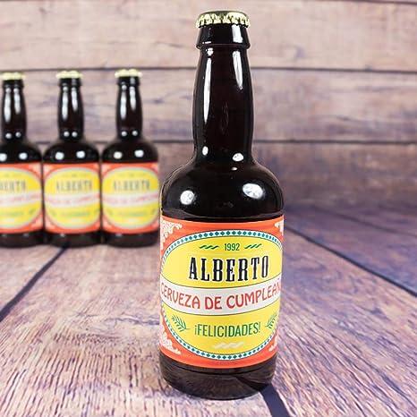 Cervezas personalizadas (Cerveza personalizada): Amazon.es: Alimentación y bebidas