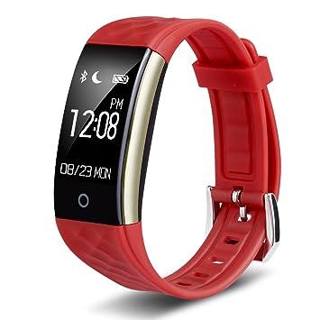 Diggro S2 Smart Bracelet Bluetooth 4.0 Étanche Montre Connectée Sports Moniteur Fréquence Cardiaque Podomètre Calories Sommeil