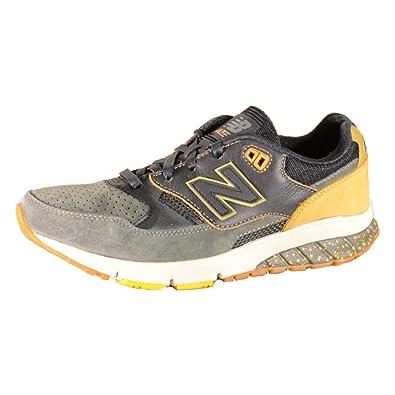 New Balance - New Balance 530 - MVL530AH - Chaussures de sport pour homme en daim, couleur vert - vert - vert, 41,5 EU EU