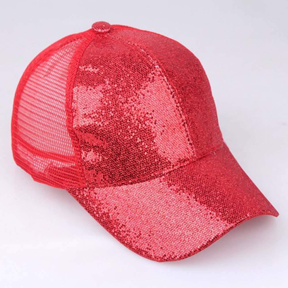 DEELIN Sombrero para Las Mujeres Chica Cola De Caballo De BéIsbol ...