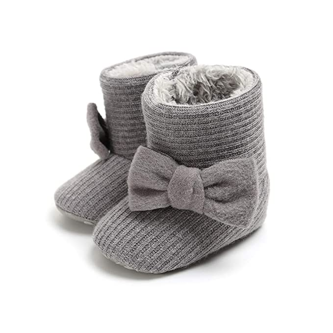 Morbuy Zapatos de Bebe Botas de Nieve Gruesas Primeros Pasos, Niño y Niña Recién Nacido Cuna Suela Blanda Antideslizante Zapatillas: Amazon.es: Ropa y ...
