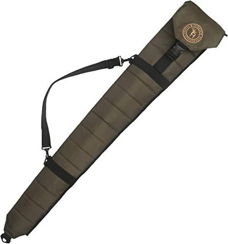 tourbon pistola de caza plegable bolsa slip escopeta estuche de almacenamiento – verde: Amazon.es: Deportes y aire libre