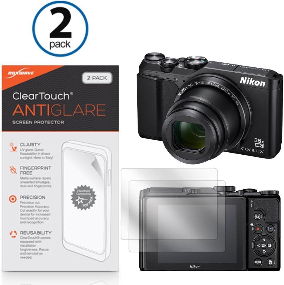 Nikon Coolpix A900 Protector de pantalla, BoxWave [ClearTouch Anti ...