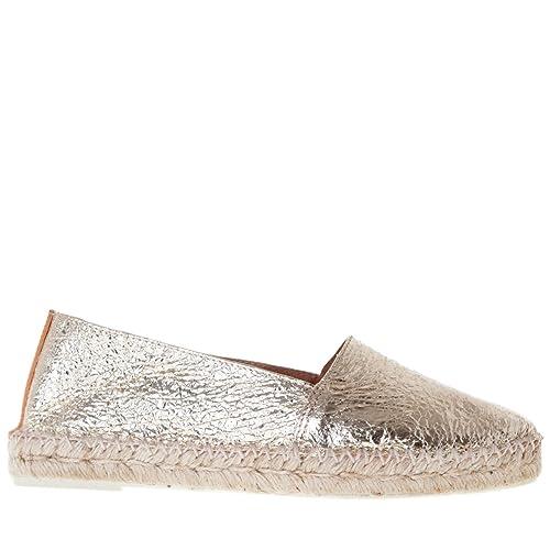 maypol Mujer Salsa vo6 Alpargata Volcan platino, color, talla 36 EU: Amazon.es: Zapatos y complementos